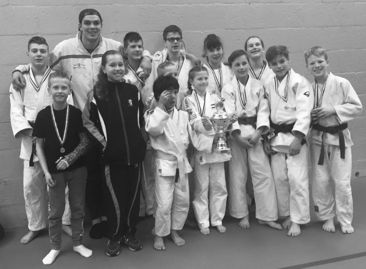 Judo Yushi team wint voor 10e keer WFJC Hoofdklasse