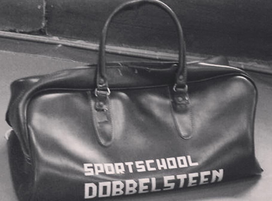sporttas van Sportschool Dobbelsteen