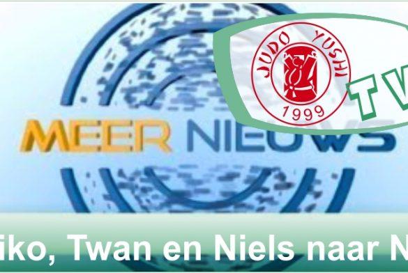 Meernieuws: Biko Vos, Twan van der Werff and Niels Dekker naar het NK