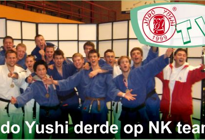 Judo Yushi derde op NK Teams 2007
