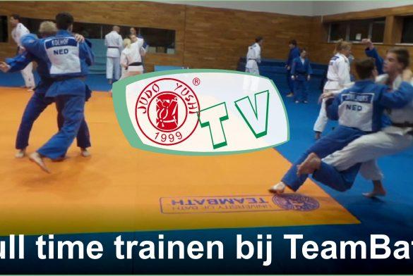 Judo Yushi traint week full time bij Team Bath