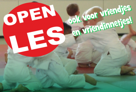 Open Les bij Judo Yushi! Iedereen kan meedoen!