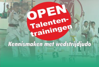 Open Talententrainingen
