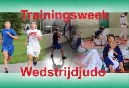 Trainingsweek Wedstrijdjudo