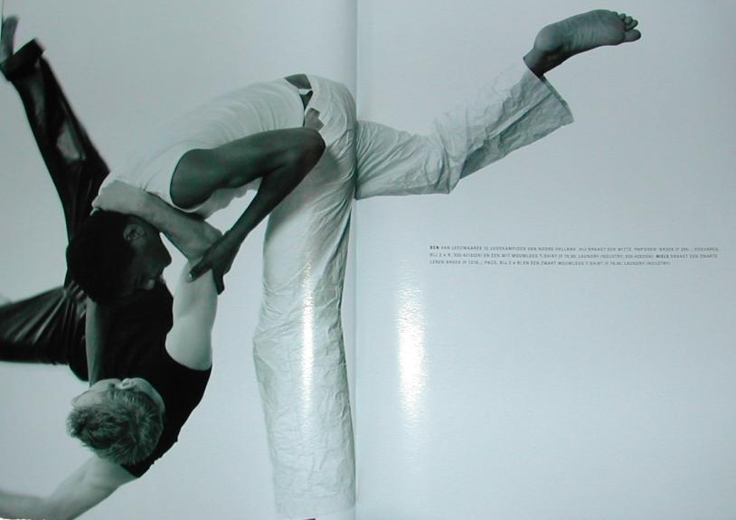 Judo Yushi in rails, het blad van de NS