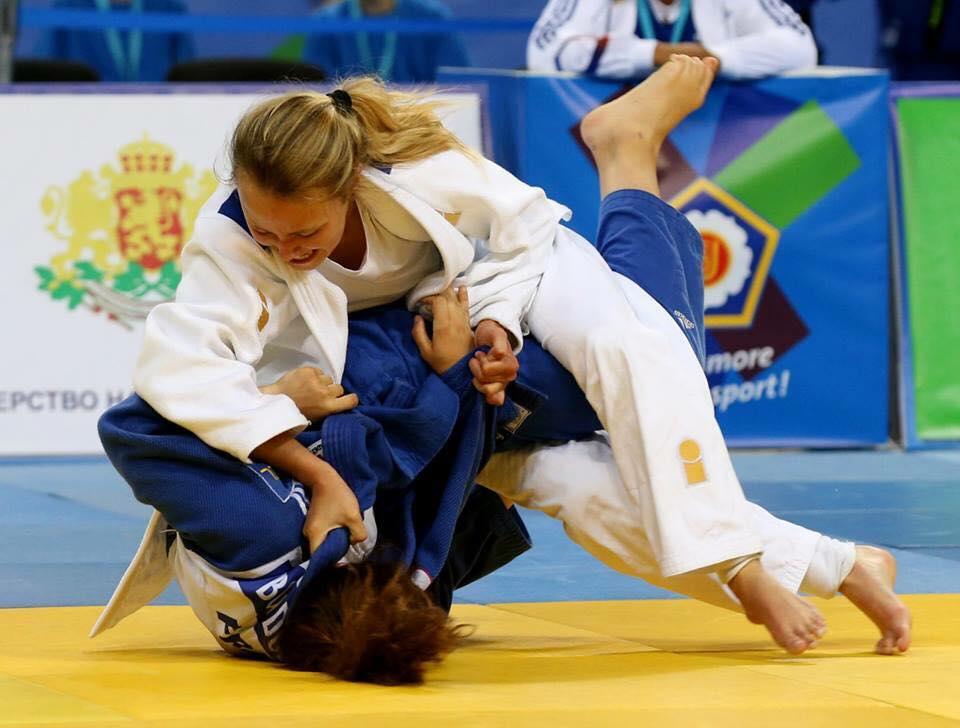 Judo Yushi wedstrijdjudo EK judo Ilse Buren