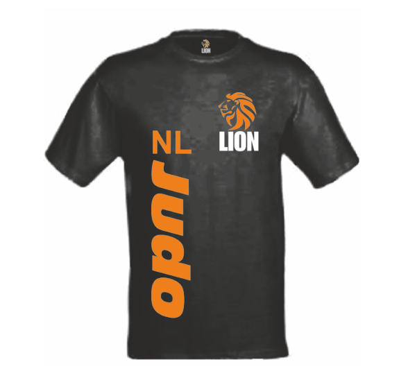 Judo Yushi Shop - Lion T-shirt NL JUDO