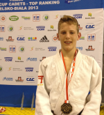 Judo Yushi Twan van der Werff Bielsko Biala Poland European Cup
