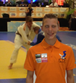 Twan van der Werff WK USA Judo Yushi