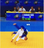 Judo Yushi Twan van der Werff European Championships