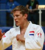 Twan van der Werff Judo Yushi WK 2017