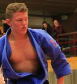 NK Judo Twan van der Werff Judo Yushi kampioen van Nederland