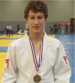 Judo Yushi Christopher Groot NK Judo u18 3e van Nederland