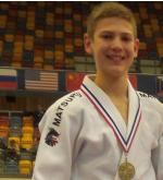 Judo Yushi Jelle van der Werff derde van Nederland NK Judo