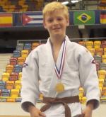 Luca Needham Judo Yushi kampioen van Nederland NK Judo u15