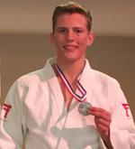 Judo Yushi Twan van der Werff NK Judo