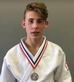 Judo Yushi NK Judo -18 jaar Loek van der Veld