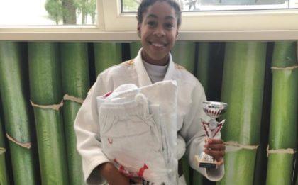 Judo Yushi judoka Maira Medema wint stijlprijs