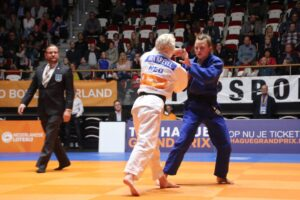 Judo Yushi judoka Ilse Buren in finale NK judo 2018