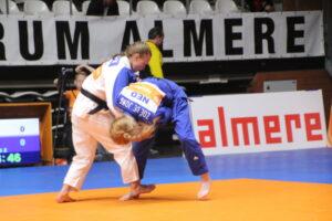 Judo Yushi judoka Ilse Buren vs Zoe de Jong NK Judo 2018