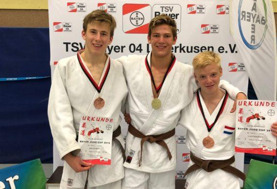 Bayer Judo Cup 2018 prijzen Judo Yushi heren u17