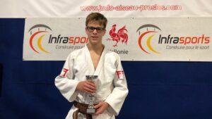 Judo Yushi judoka Tom Duivenvoorden u15 Hainaut Cup Belgie
