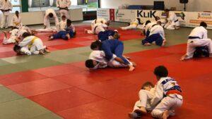 Judo Yushi en Differdange randori ne-waza