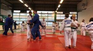 Judo Yushi en Differdange uchi-komi