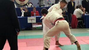 Judo Yushi national challenge de Troyes 2018 Jelle van der Werff