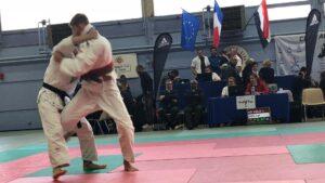 Judo Yushi national challenge de Troyes 2018 Loek van der Veld finale tegen Heili