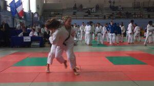 Judo Yushi national challenge de Troyes 2018 Sammy Beelen finale tegen Couty