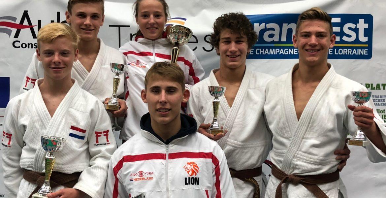 Judo Yushi national challenge de Troyes 2018 groepsfoto