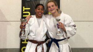 Judo Yushi prijwinnaars u15 meisjes Hainaut Cup Belgie