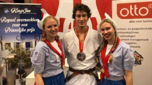 Open Alkmaase 2018 prijzen Judo Yushi Christopher