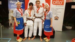 Open Alkmaase 2018 prijzen Judo Yushi Emilio - Dion