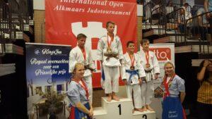 Open Alkmaase 2018 prijzen Judo Yushi Markus