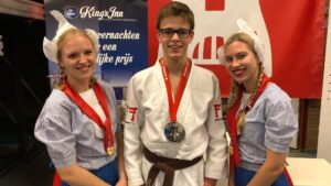 Open Alkmaase 2018 prijzen Judo Yushi Tom