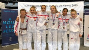 Harnes 2018 - Judo Yushi teamfoto u14