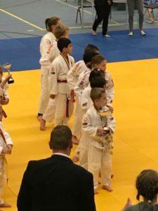 Judo Yushi team pup A nhk 2018 prijsuitreiking
