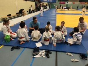 Judo Yushi team pup A nhk 2018 teambespreking vooraf