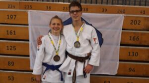 Open Helderse -Judo Yushi Tom en Kimberley