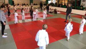 Judo Yushi Miniteams 2018 start van de teamwedstrijden