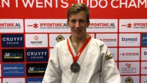 Judo Yushi - Open Twents judokampioenschap Jelle de Bruin tweede