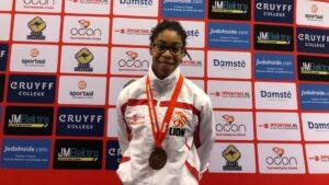 Judo Yushi - Open Twents judokampioenschap Maira derde