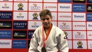 Judo Yushi - Open Twents judokampioenschap Markus Feddema eerste