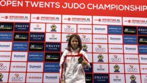 Judo Yushi - Open Twents judokampioenschap Shayen eerste