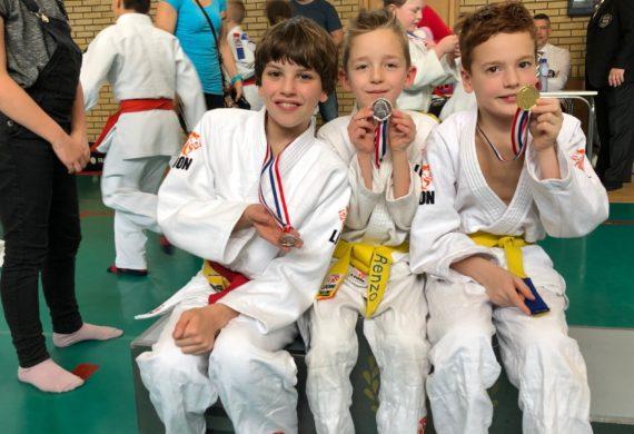 Judo Yushi prijswinnaars ontwikkelingstoernooi feb 2019