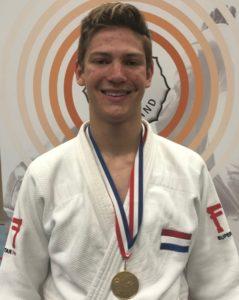 Judo Yushi - NK u18jaar 2019 - Jelle van der Werff kampioen van Nederland