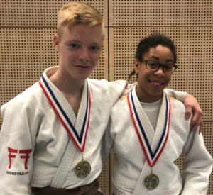 Judo Yushi - NK u18jaar 2019 - Luca Needham en Maira Medema