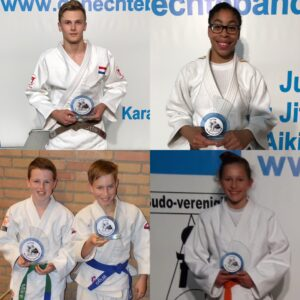 Judo Yushi - Houvast toernooi 2019 prijswinnaars